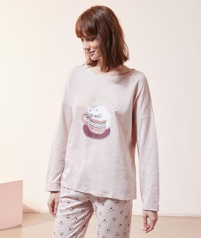 Camiseta estampada 'cream y coffee';${refinementColor}