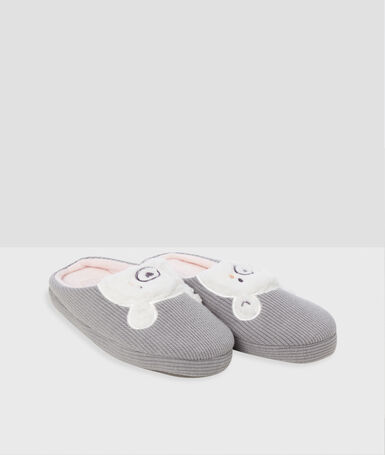 Zapatillas osos c.gris.