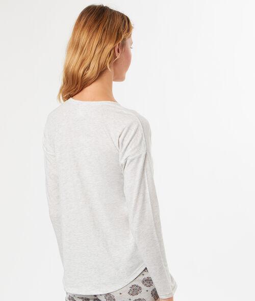 Camiseta manga larga mariposa