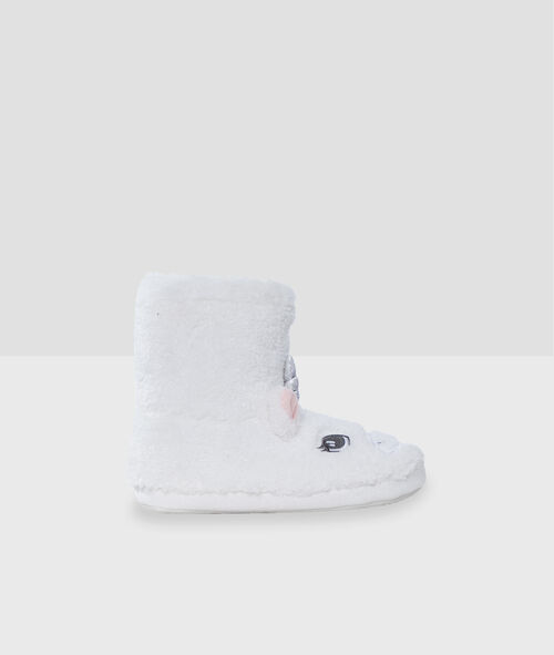Zapatillas tipo botines unicornio