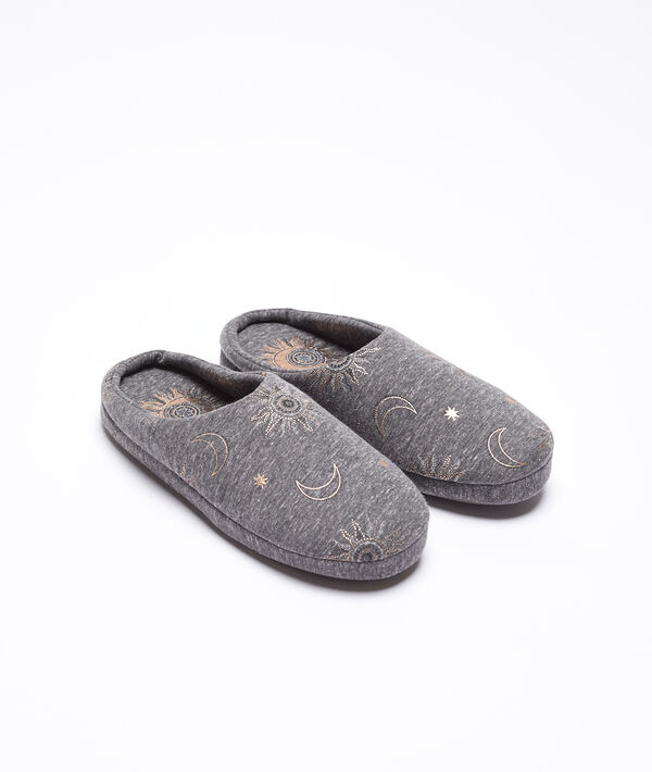 Zapatillas destalonadas estrellas