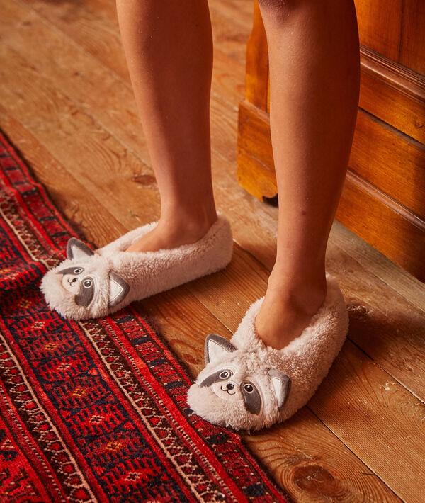 Zapatillas mapache
