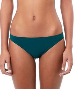 Braguita bikini lisa turquesa.