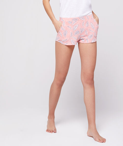 Pantalón corto estampado