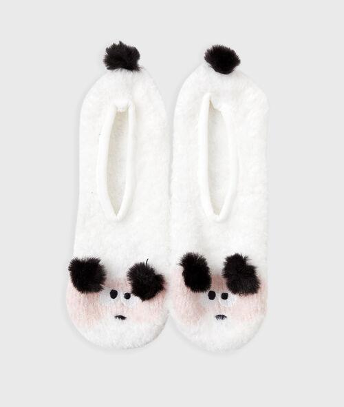 Zapatillas animalitos con pompones