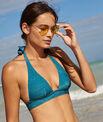 Sujetador bikini triangular bikini brillante