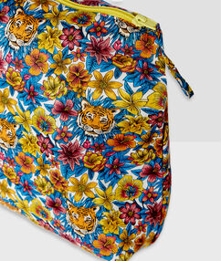 Neceser estampado liberty multicolor.
