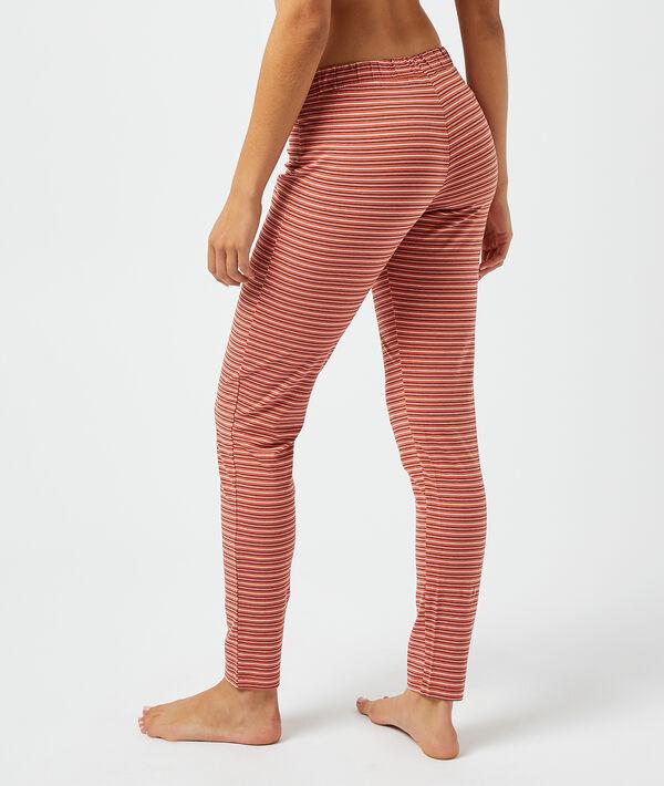 Pantalón pijama estampado rayas;${refinementColor}