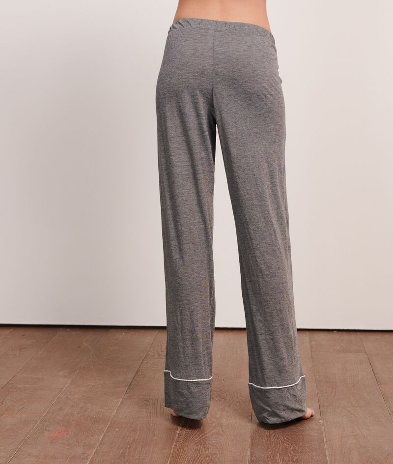 Pantalón largo liso;${refinementColor}