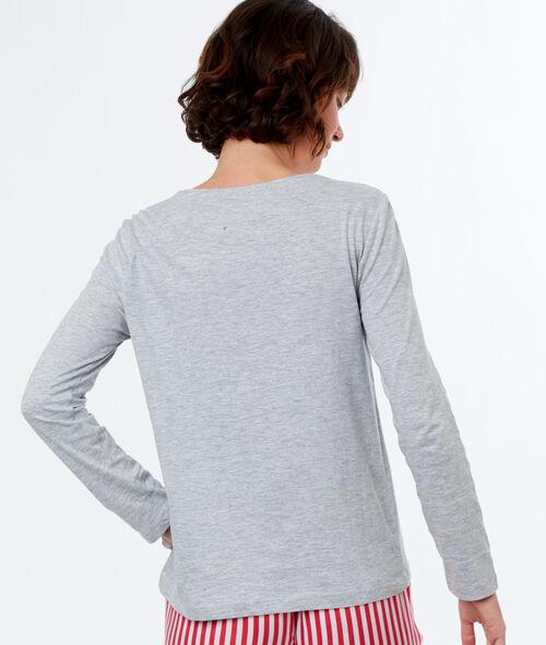 Camiseta manga larga nadadora