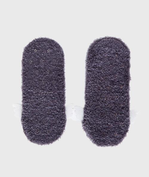 Calcetines tejido peludo con alas