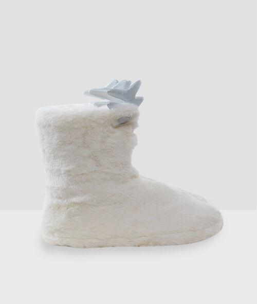 Zapatillas tipo botines oso