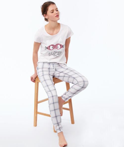 Camiseta manga corta mensaje positivo