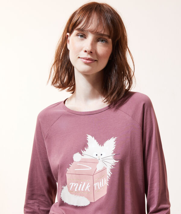 Camiseta estampada 'milk';${refinementColor}