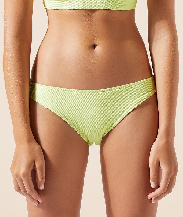 Braguita bikini tejido relieve;${refinementColor}