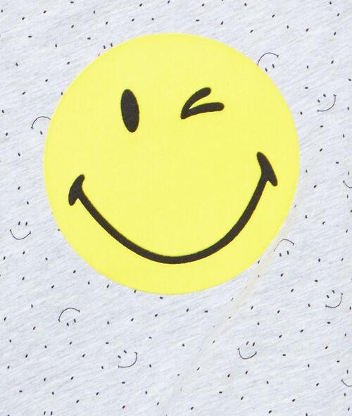 Top estampado Smiley