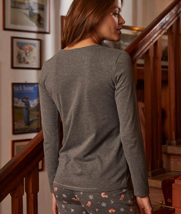 Camiseta manga larga 'cute';${refinementColor}