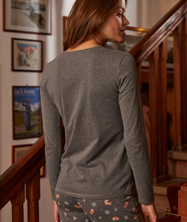 Camiseta manga larga 'cute'