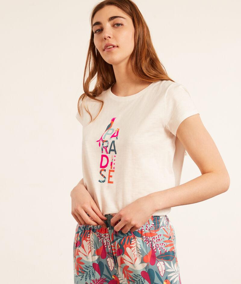Camiseta dibujo 'paradise';${refinementColor}