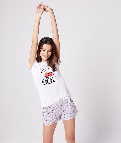Camiseta estampado Snoopy