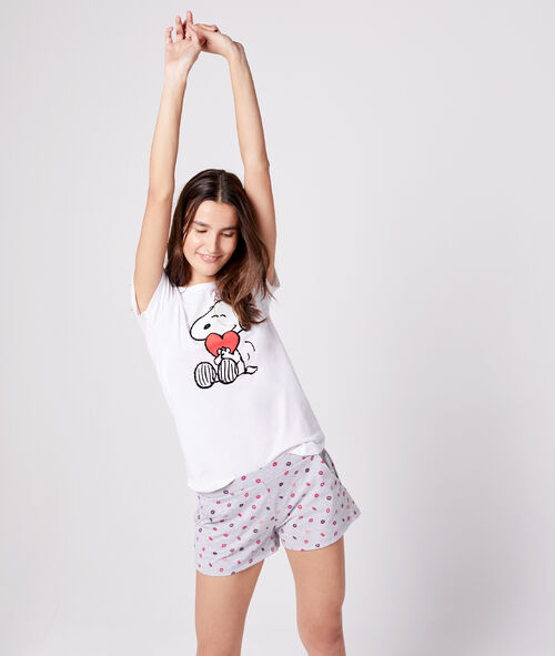 Camiseta estampado Snoopy
