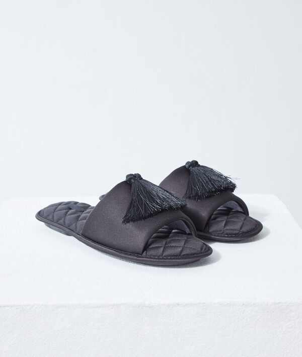 Zapatillas tejido acolchado;${refinementColor}