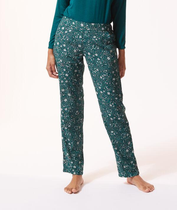 Pantalón pijama estampado;${refinementColor}
