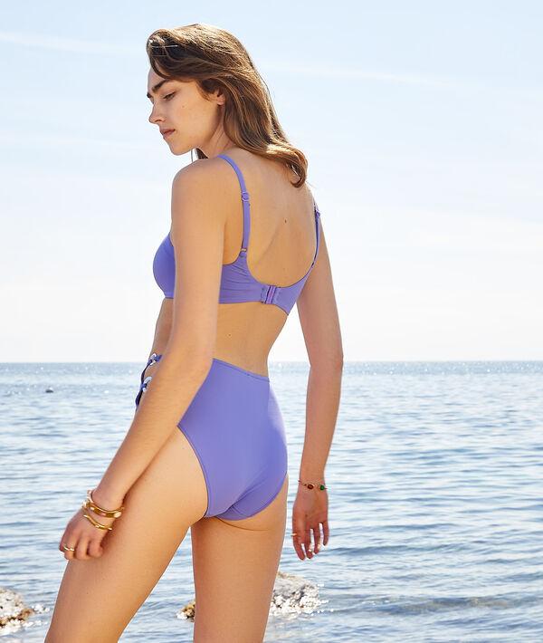 Braguita bikini talle alto, hebillas decorativas;${refinementColor}