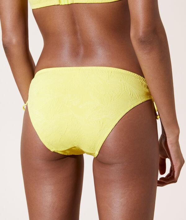 Braguita bikini, bordado palmeras;${refinementColor}