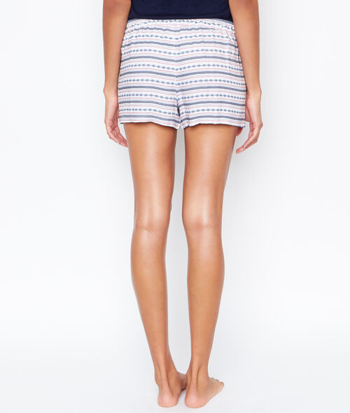 Pantalón corto pompones