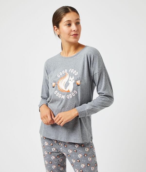 Camiseta manga larga ardilla;${refinementColor}