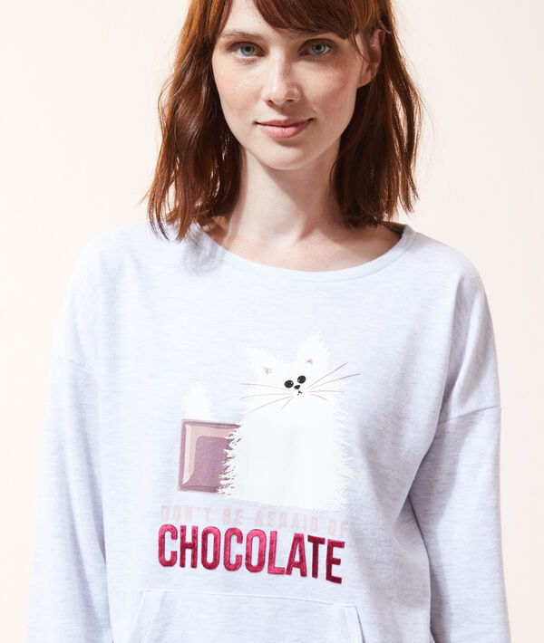 Camiseta 'don't be afraid of chocolat';${refinementColor}