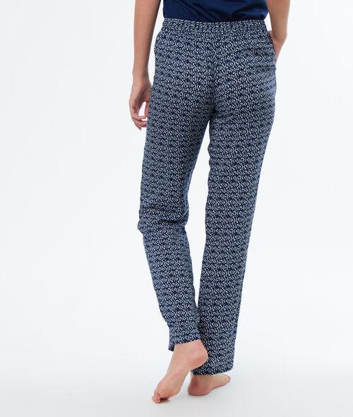 Pantalón estampado gráfico