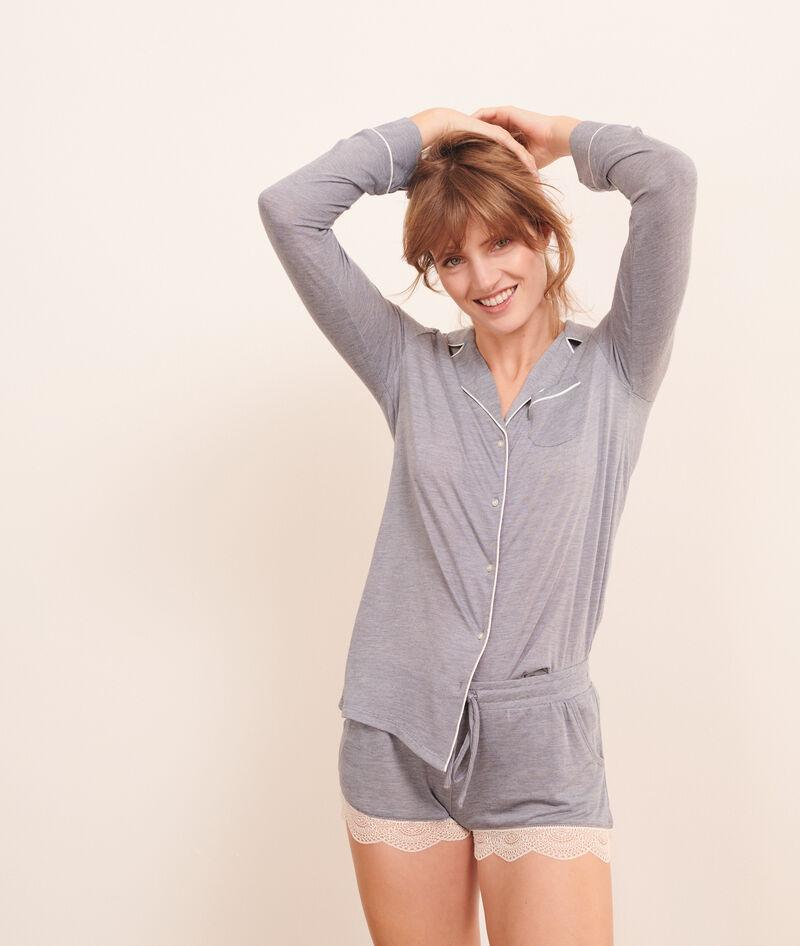 Camisa pijama lisa