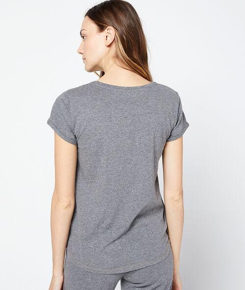 Camiseta estampado gato