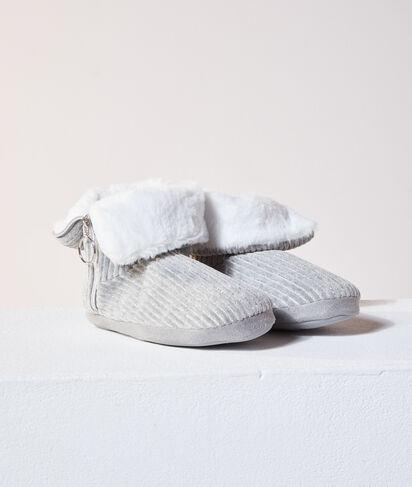 Zapatillas tipo botines con cremallera;${refinementColor}