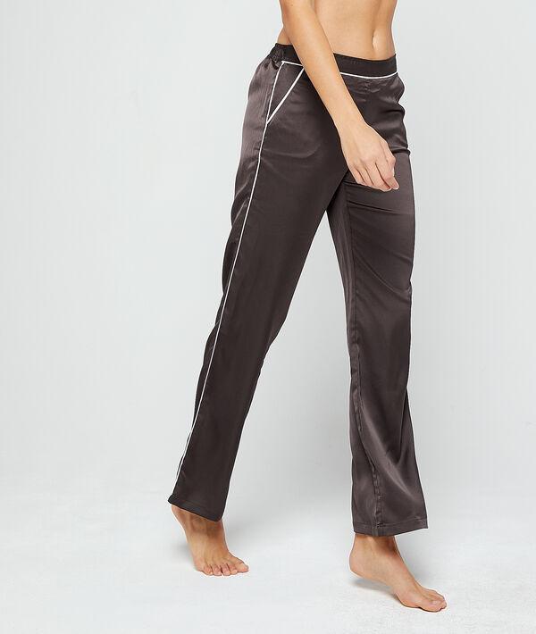 Pantalón pijama de satén