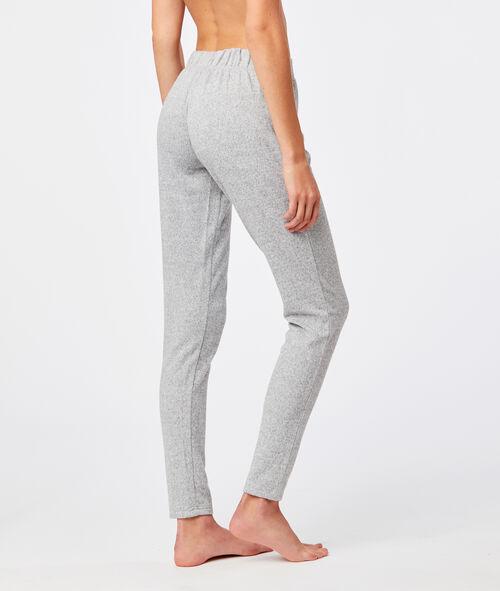 Pantalón tipo leggings jaspeado