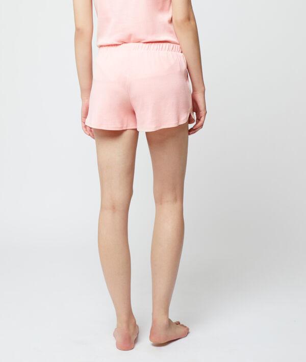 Pantalón corto holgado, algodón eco;${refinementColor}