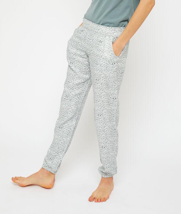 Pantalón estampado panda