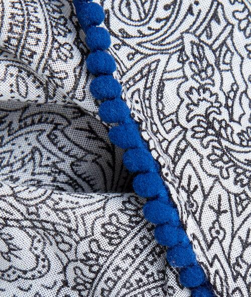 Pañuelo estampado de cachemira