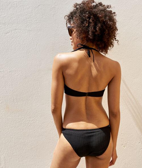 Braguita bikini tejido relieve
