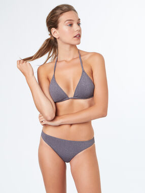 Sujetador bikini triangular c.gris.