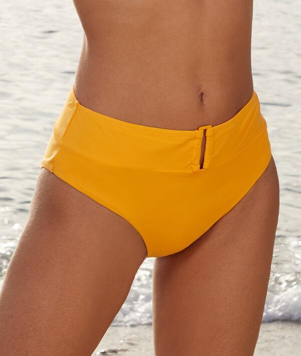 Braguita bikini talle alto con hebilla;${refinementColor}