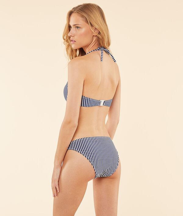 Braguita bikini estampado rayas;${refinementColor}