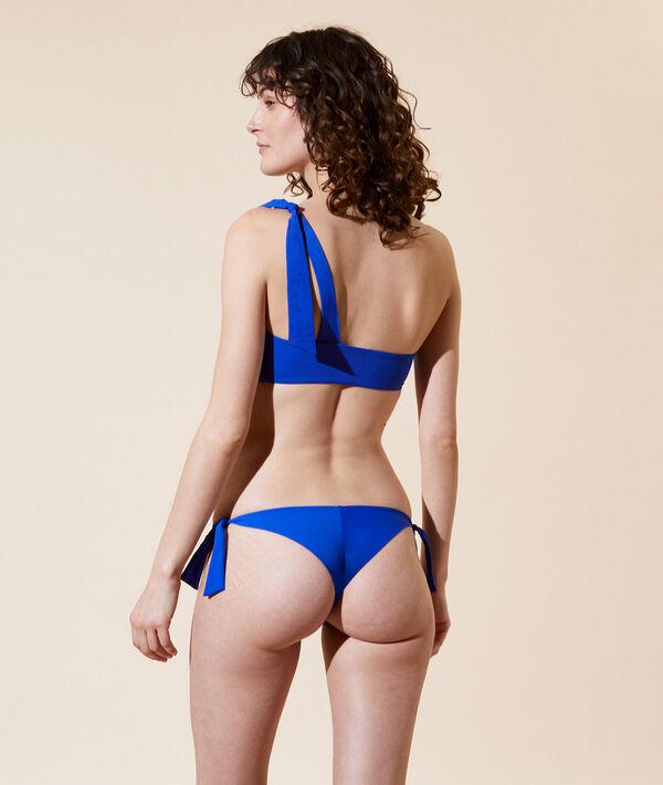 Top bikini asimétrico, copas extraíbles;${refinementColor}