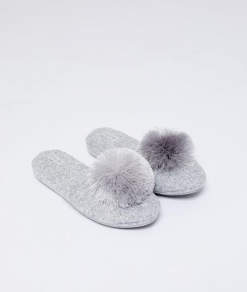 5c4a8712b67d Zapatillas de casa · Calcetines de andar por casa de mujer - Etam