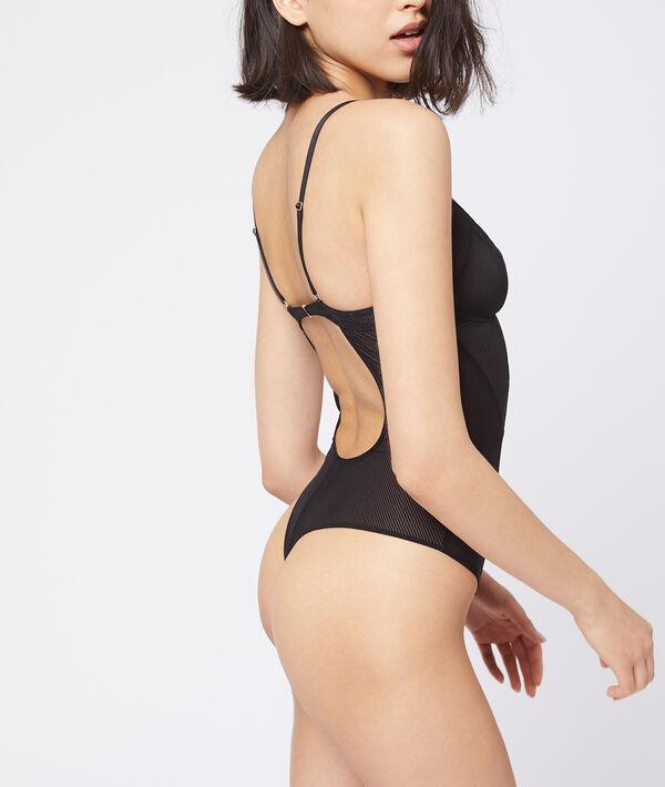 Body con abertura en la espalda