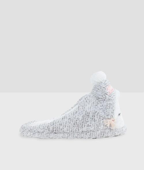 Zapatillas dibujo buho