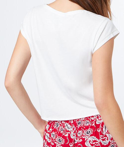 Camiseta con lazada
